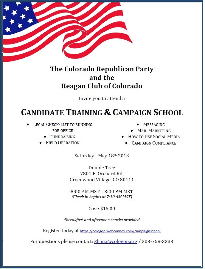 Candidate Training &amp; Campaign School