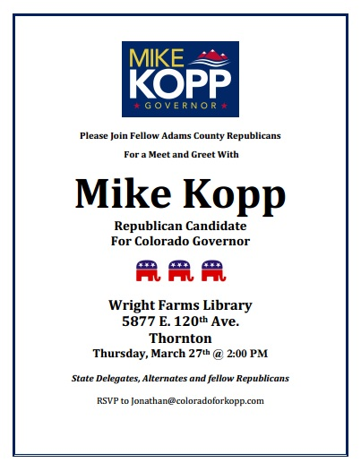 Mike Kopp meet and greet