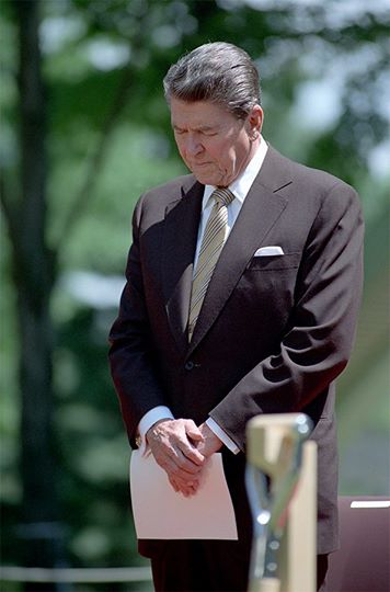 Ronald Reagan memorial day quote