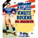 knute rockne all american hero