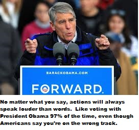 mark udall forward with words