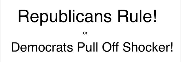republicans rule
