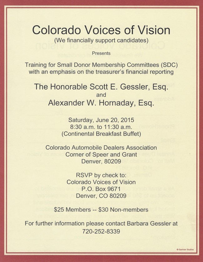 Colorado Voices of Vision
