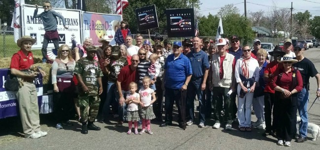 commerce city memorial day group parade