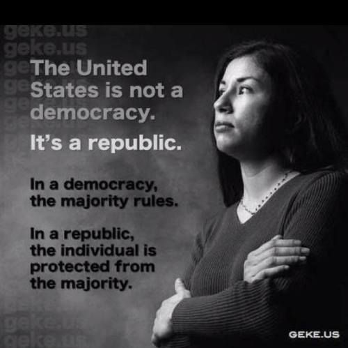 USA a democracy or republic