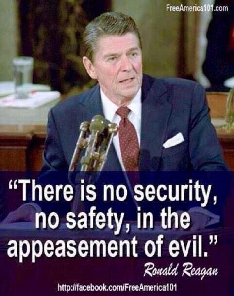 RWR quote on appeasement