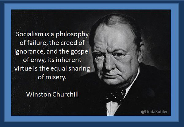 socialism is Winston Churchill quote