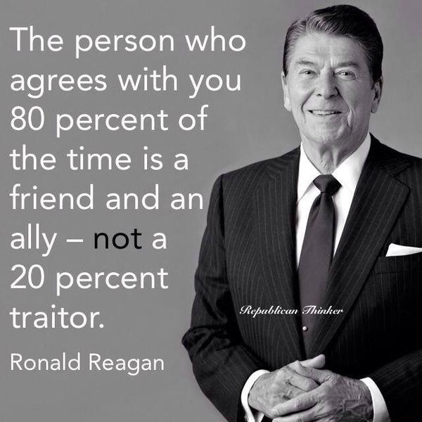 Reagan 80-20 rule