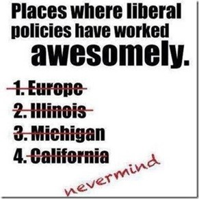 Places where Liberal policies have worked awesomely