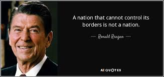 RWR A nation that cannot control its borders