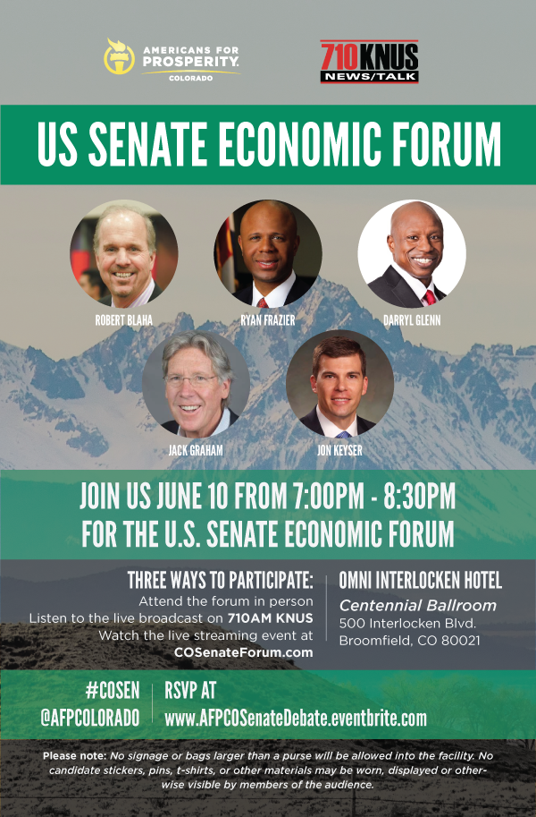 US Senate Economic Forum